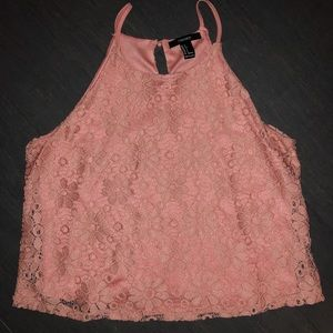Forever 21 Tops - Floral Lace Top